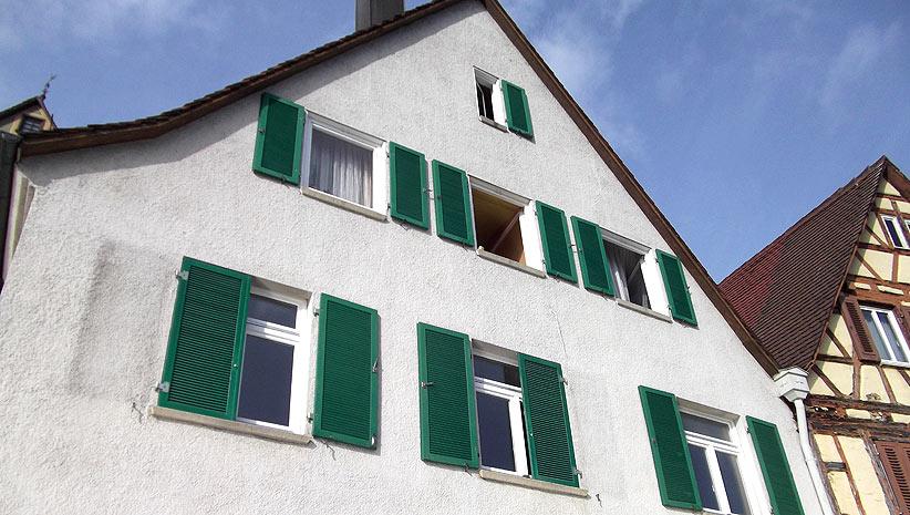 Hofstetter Das Handwerker Haus Denkmalgeschutztes Haus Bietigheim